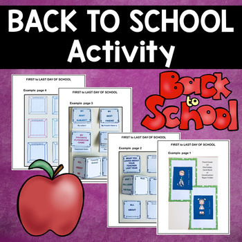 BACK TO SCHOOL FOLDABLES