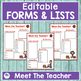 BACK TO SCHOOL FORMS AND LISTS Apple Theme