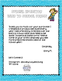 EDITABLE BACK TO SCHOOL FORMS for Special Educators