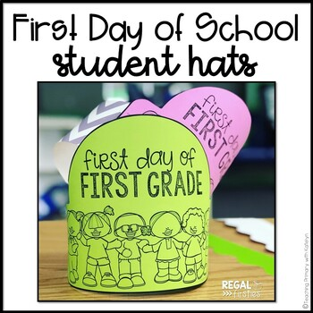 First Day of School Hats