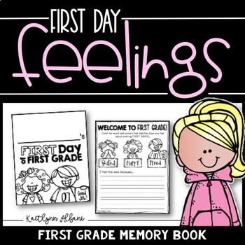 BACK TO SCHOOL First Grade Memory Book - Practice Pages