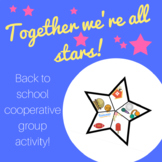 Back to School Cooperative Group Activity