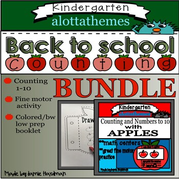 BACK TO SCHOOL/First week back BUNDLE with NUMBERS