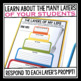 BACK TO SCHOOL GET TO KNOW ME ACTIVITY: CAKE LAYERS