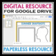 BACK TO SCHOOL GET TO KNOW ME DIGITAL ACTIVITY (USE WITH GOOGLE DRIVE)