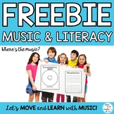 Free music class writing activity
