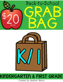 BACK TO SCHOOL GRAB BAG {kindergarten and first}