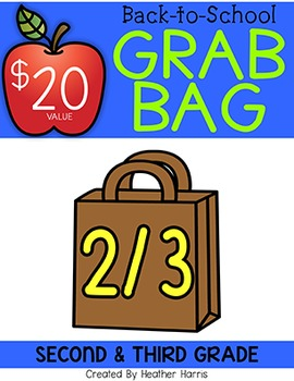 BACK TO SCHOOL GRAB BAG {second and third}