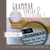 GRAMMAR & SYNTAX BUNDLE