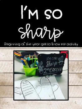 BACK TO SCHOOL: Get to know me CACTUS worksheet