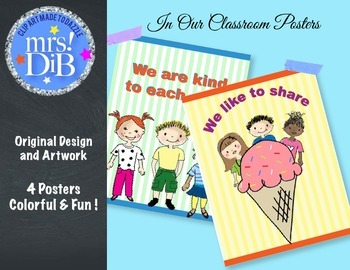 BACK TO SCHOOL  - Class Decor -  Posters 2 !