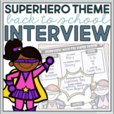 Back to School Interview Activity
