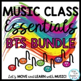 Music Class Essentials + BTS Bundle: Songs,Chants,Games, Mp3's, Decor, Lessons