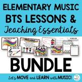 Music Class Essentials + BTS Bundle: Songs,Chants,Games, M