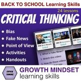 Critical Thinking Strategies: Fake News, Hidden Bias, POV