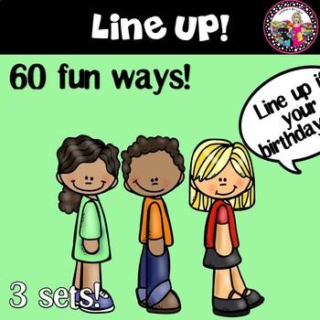 LINE-UP!  60 Fun Ways!