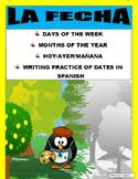 BACK TO SCHOOL - La Fecha- Months & Days of the Week & Wri