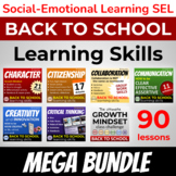 Growth Mindset Life Skills Mega Bundle ⭐21st Century Learn