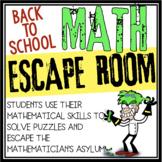 MATH ESCAPE ROOM 2