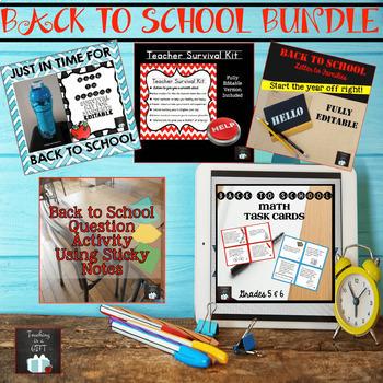 BACK TO SCHOOL MEGA BUNDLE