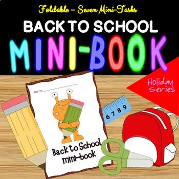 BACK TO SCHOOL MINIBOOK FREEBIE!