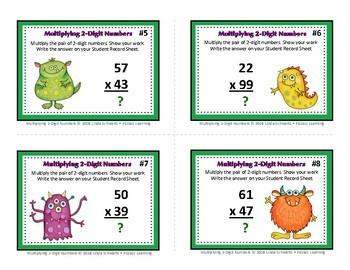 MULTIPLYING 2-DIGIT NUMBERS