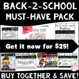 BACK TO SCHOOL MUST-HAVE PACK (INCLUDES 7 PRODUCTS)
