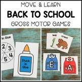 BACK TO SCHOOL Move & Learn Gross Motor Games for Preschoo