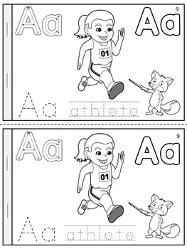 BACK TO SCHOOL -  My Booklet of Letter A