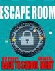 BACK TO SCHOOL NIGHT Escape Room