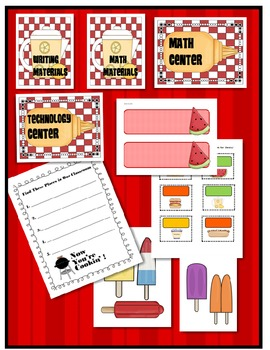 BACK TO SCHOOL PICNIC {ACTIVITIES for the FIRST DAYS & OPEN HOUSE}