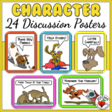 Character & Manners Mini-Posters - mindfulness - rules and