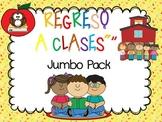 BACK TO SCHOOL. REGRESO A CLASES EN ESPAÑOL. JUMBO PACK  U