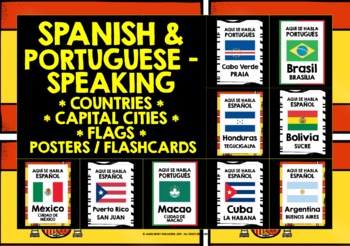 BACK TO SCHOOL SPANISH-SPEAKING COUNTRIES POSTERS