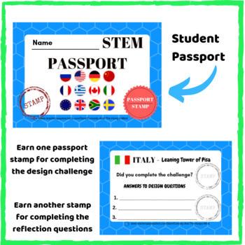 STEM Activities - Student Passport around the World