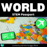 STEM Activities Student Passport around the World