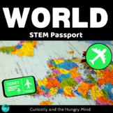STEM Student Passport around the World - Independent Work Packets.