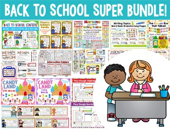 BACK TO SCHOOL SUPER BUNDLE!  40 Kits at an AMAZING Price