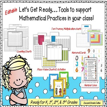 Let's Get Ready!...Math Start Up Pack!  (Common Core Ready)