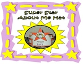 BACK TO SCHOOL - Super Star All About Me Hat Craft