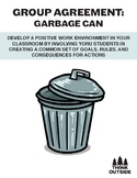 BACK TO SCHOOL TOOLS: Group Agreement - Garbage Can