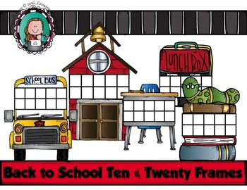 BACK TO SCHOOL Ten and Twenty Frames