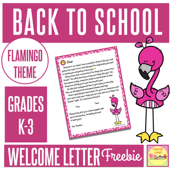 Welcome letter template teaching resources teachers pay teachers back to school welcome letter template back to school welcome letter template spiritdancerdesigns Choice Image