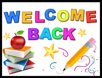 FREE - BACK TO SCHOOL WELCOME SIGN