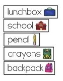 BACK TO SCHOOL WORD CARDS (FREEBIE!)