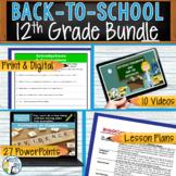 WRITING & GRAMMAR - BACK TO SCHOOL ENGLISH BUNDLE!!! - 12th Grade