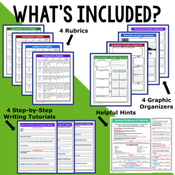 WRITING & GRAMMAR - BACK TO SCHOOL ELA BUNDLE!!! - 7th Grade