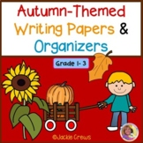 BACK TO SCHOOL  Writing Papers and Organizers Autumn-Themed