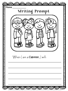 BACK TO SCHOOL - Writing Prompts - 72 Classroom Jobs