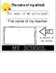 BACK TO SCHOOL activity- Flip Book - 3rd Grade